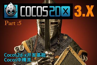 Part 5:Cocos2d-x开发实战-Cocos中精灵
