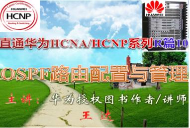 【直通华为HCNA/HCNP系列R篇-10】OSPF路由配置与管理