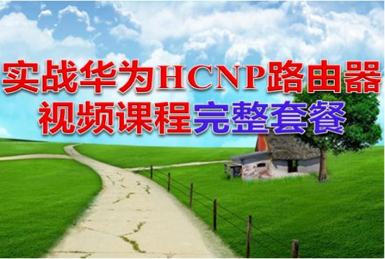 实战华为HCNP路由器视频课程完整套餐  title=