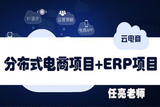 大型电商实战项目+大型ERP实战项目套餐