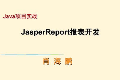 Java项目实战--报表开发(JasperReport)视频课程