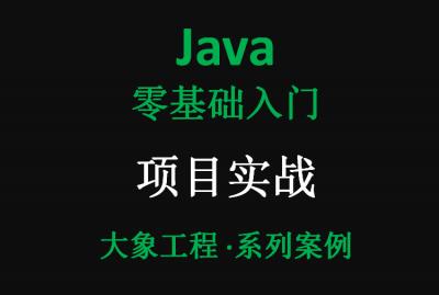Java入门实战基础案例讲解