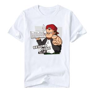 2017版不止于代码T恤 订制短袖  黑、白双色可选