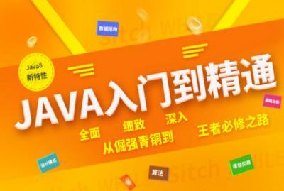 java基础入门到实战项目全套视频