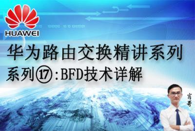 华为路由交换精讲系列17:BFD技术详解[肖哥]视频课程