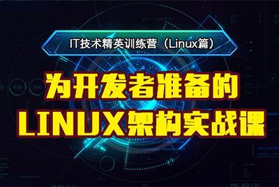 为开发者准备的Linux架构实战课