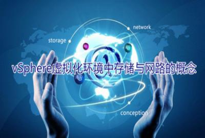 vSphere 虚拟化环境中存储与网路的概念