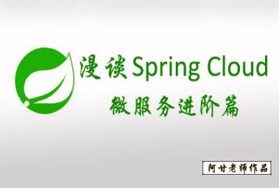 漫谈spring cloud分布式服务架构视频教程