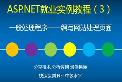 ASP.NET就业实例视频教程(3)一般处理程序——编写网站处理页面