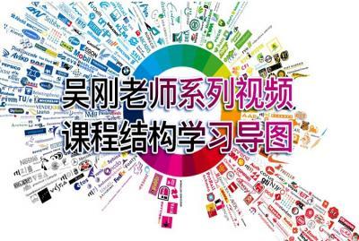 【吴刚】吴刚老师系列设计视频课程结构学习导图