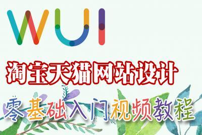 【吴刚】淘宝天猫网站设计初级入门标准视频教程