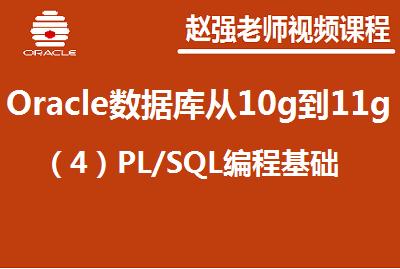 赵强老师:Oracle数据库从10g到11g(4)PL/SQL编程基础