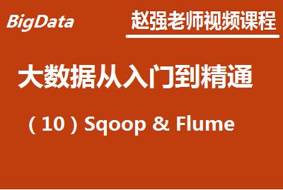 赵强老师:大数据从入门到精通(10)Sqoop & Flume