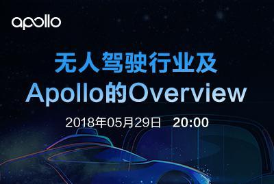 无人驾驶行业及Apollo的Overview