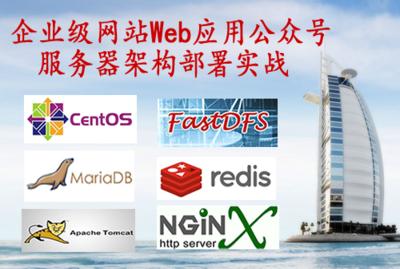 企业级网站Web应用公众号服务器架构部署实战