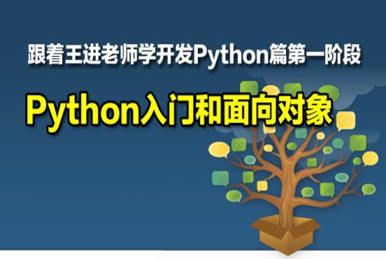 跟着王进老师学开发Python篇第一阶段:Python基础入门和面向对象  title=