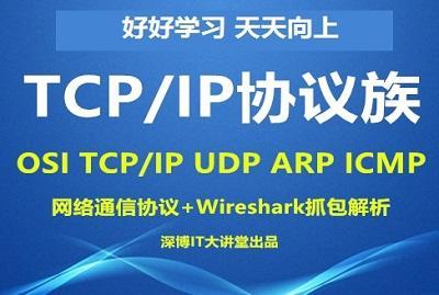 第07章-网络通信协议(OSI、TCP、UDP、IP、ARP、ICMP等)