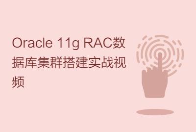 Oracle 11g RAC数据库集群搭建实战视频