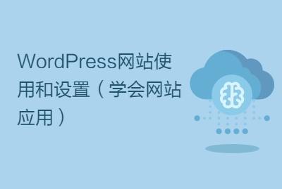 WordPress网站使用和设置(学会网站应用)