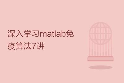 深入学习matlab免疫算法7讲