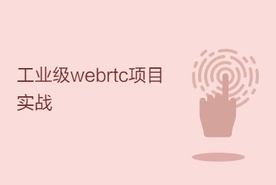 工业级webrtc项目实战