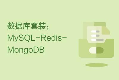 数据库套装:MySQL-Redis-MongoDB