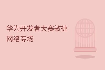华为开发者大赛敏捷网络专场