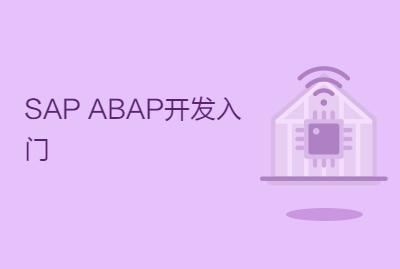 SAP ABAP开发入门
