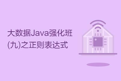 大数据Java强化班(九)之正则表达式