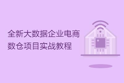 全新大数据企业电商数仓项目实战教程