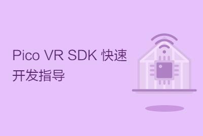 Pico VR SDK 快速开发指导