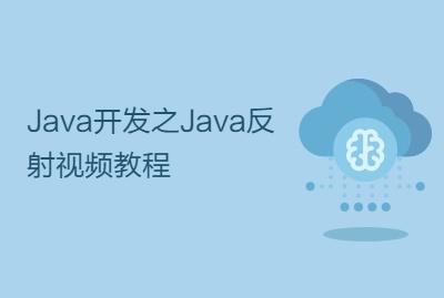Java开发之Java反射视频教程