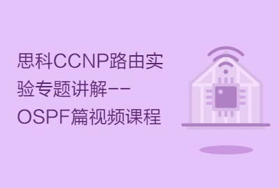 思科CCNP路由实验专题讲解--OSPF篇视频课程