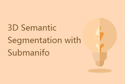 3D Semantic Segmentation with Submanifo