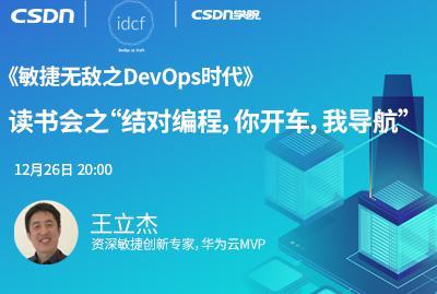 """《敏捷无敌之DevOps时代》读书会之""""结对编程,你开车,我导航"""""""