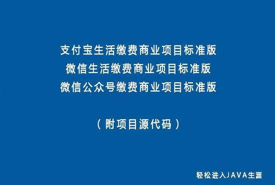 微信&支付宝&公众号商业项目视频专辑  title=