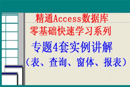 精通Access数据库专题4套实例讲解