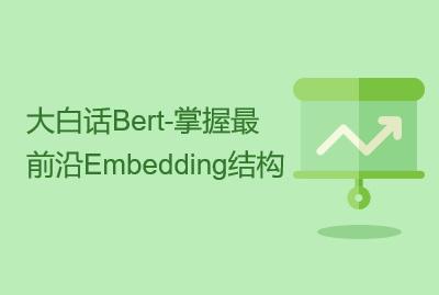 大白话Bert-掌握最前沿Embedding结构