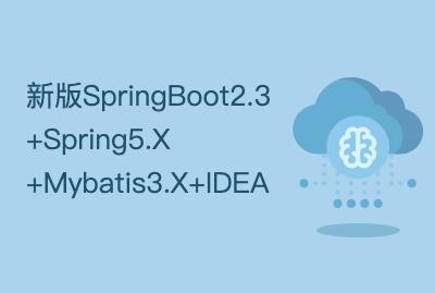 新版SpringBoot2.3+Spring5.X+Mybatis3.X+IDEA+全栈综合项目实战