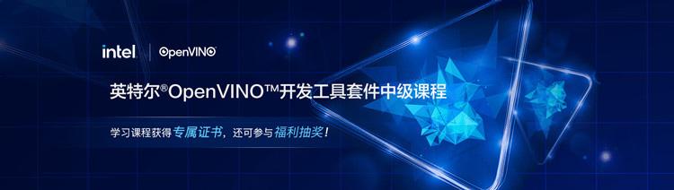 英特尔®OpenVINO™开发工具套件中级课程