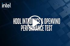 英特尔® HDDL 与 OpenVINO™ 性能测试