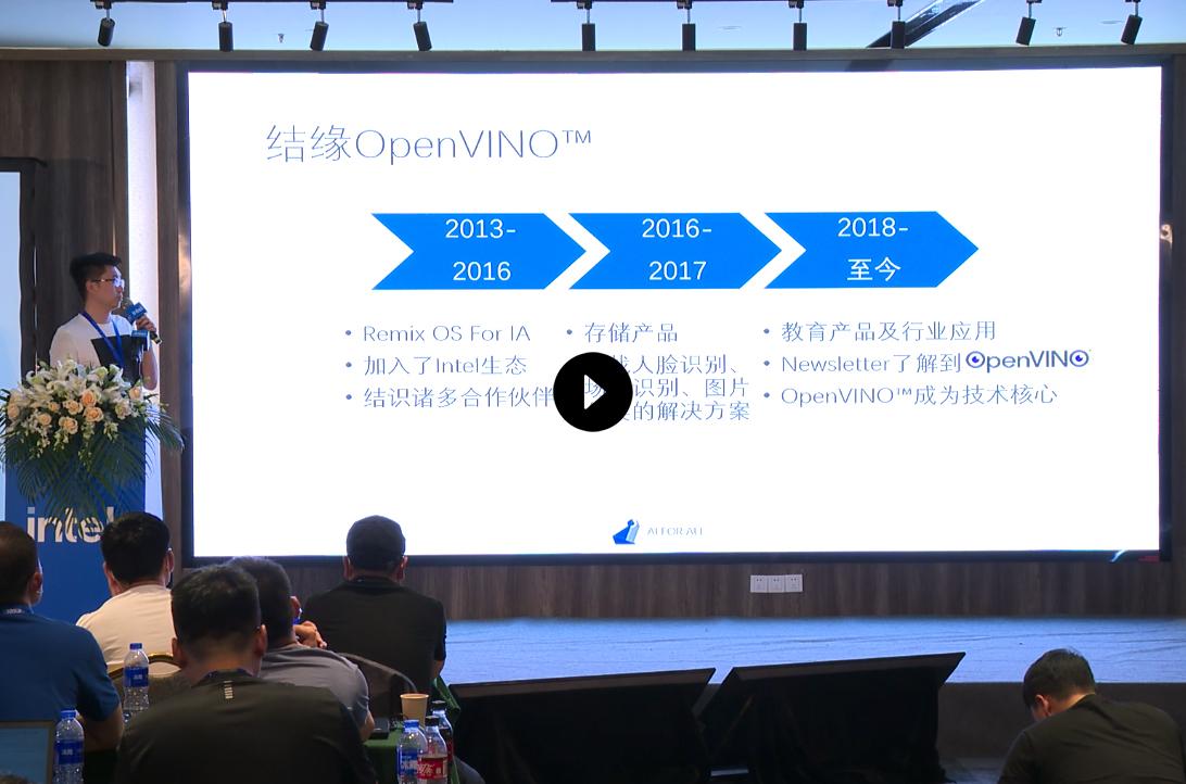 从0到1--传统技术团队如何利用OpenVINO™加速产品落地